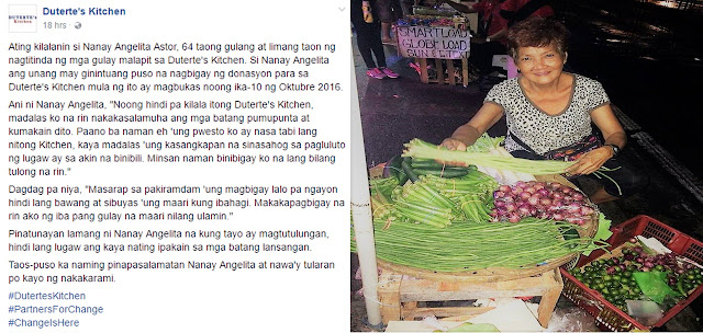 Small-Time Vendor Praised For Being The First Regular Donor For 'Duterte's Kitchen'!