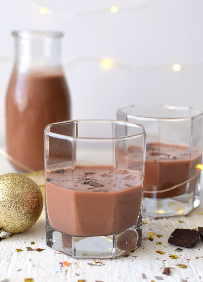 Ponche crema venezolano de chocolate