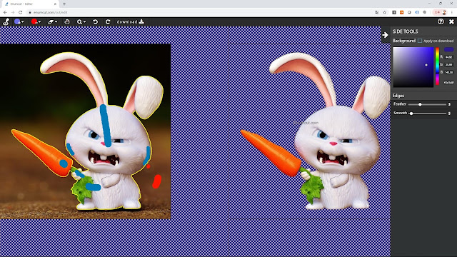 [ Enumcut ] Animation Character(The Secret Life of Pets 2)  Photo - Remove Background From Image  (Example)