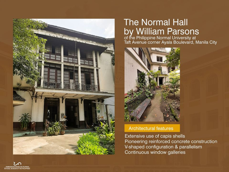 The Normal Hall of the Philippine Normal University