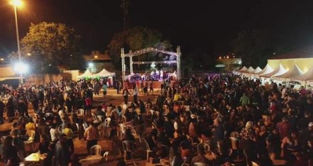 Festa junina arrecada fundos para a construção da Paróquia Nossa Senhora do Carmo