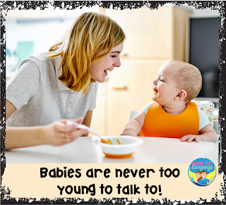 Your kids are never too young to talk to!