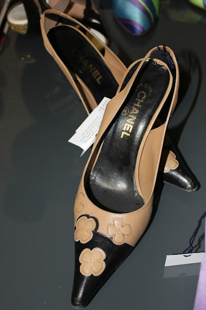 chanel vintage shoes