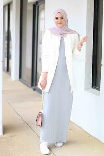 Inspirasi baju lebaran muslimah outifit santai