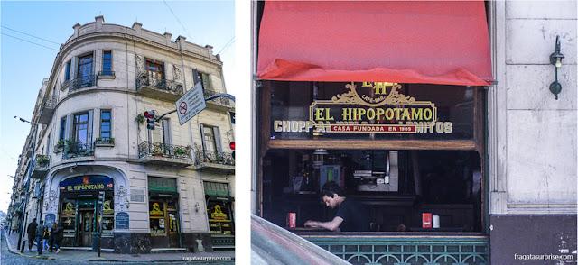 Bar El Hipopotamo, San Telmo, Buenos Aires