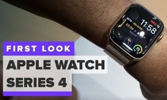 Apple Watch Series 4: Hands on look
