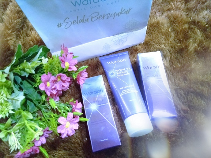 review wardah anti aging