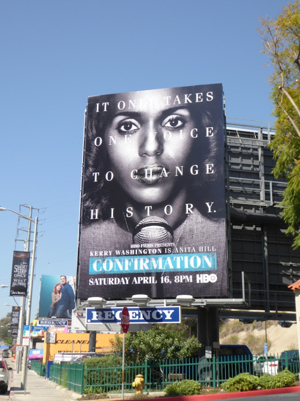 Confirmation TV movie billboard