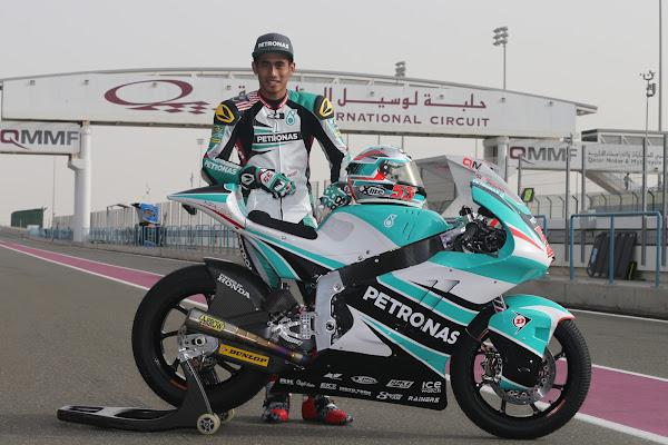 Hafizh Syahrin Petronas Raceline Malaysia Moto2 2016
