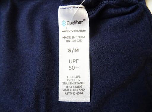 UPF là chỉ số chống tia UV dành cho quần áo