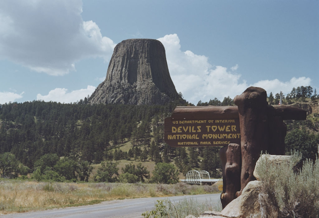 Devil's Tower 50 million years old - America's leading landmark