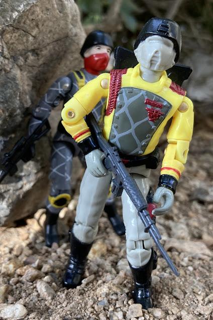 1989 Python Patrol Crimson Guard, 2021 Python Patrol Cobra Trooper, Black Major