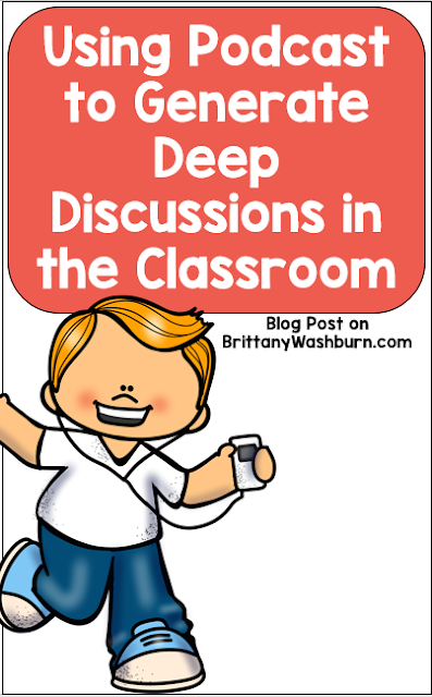 Listening to, dissecting, and responding to topics via podcasts can be a great way to get kids to engage in important discussions.  As an audio-only medium, podcasts also foster listening skills.