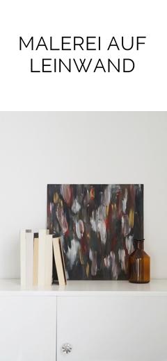 DIY abstrakte Malerei, Acryl auf Leinwand   Tasteboykott