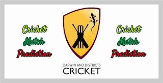 Darwin T20 PCC vs DDC 3rd Match T20 100% Sure Match Prediction
