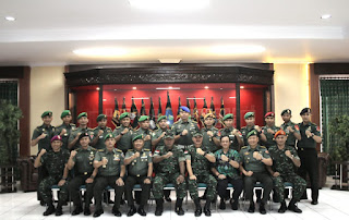 Pangdam XII/Tpr Terima Kunjungan KKLDN Pasis Dikreg LVII Seskoad TA.2019