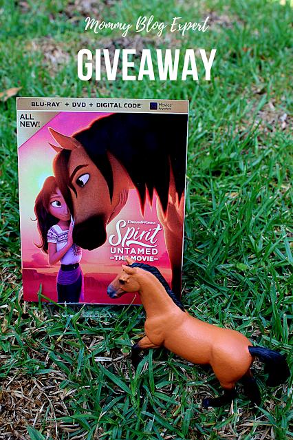 Spirit Untamed Bluray DVD Kids Giveaway