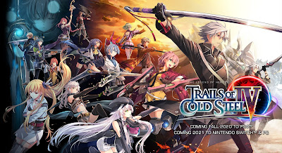 Videojuegos: Anunciada fecha de lanzamiento para The Legend of Heroes: Trails of Cold Steel IV en Europa