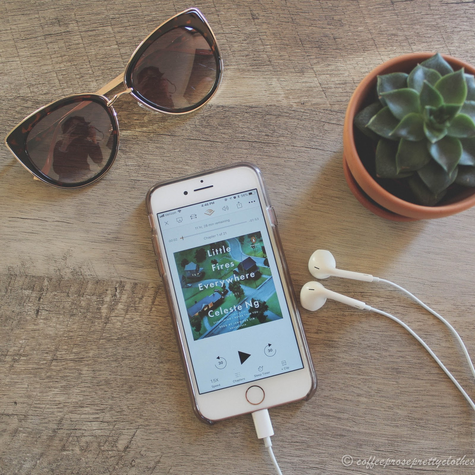 Audible Little Fires Everywhere, Celeste Ng, Book review