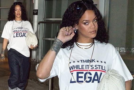 Think While It's Still Legal Rihanna shirt.  PYGear.com