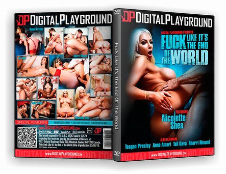 CAPA DVD – Fuck Like Its The End Of The World xxx 2019 – ISO