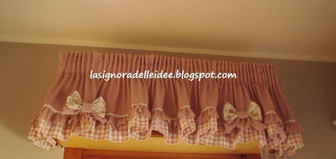 La Signora delle Idee: Mantovana con stoffe Angelica home & country