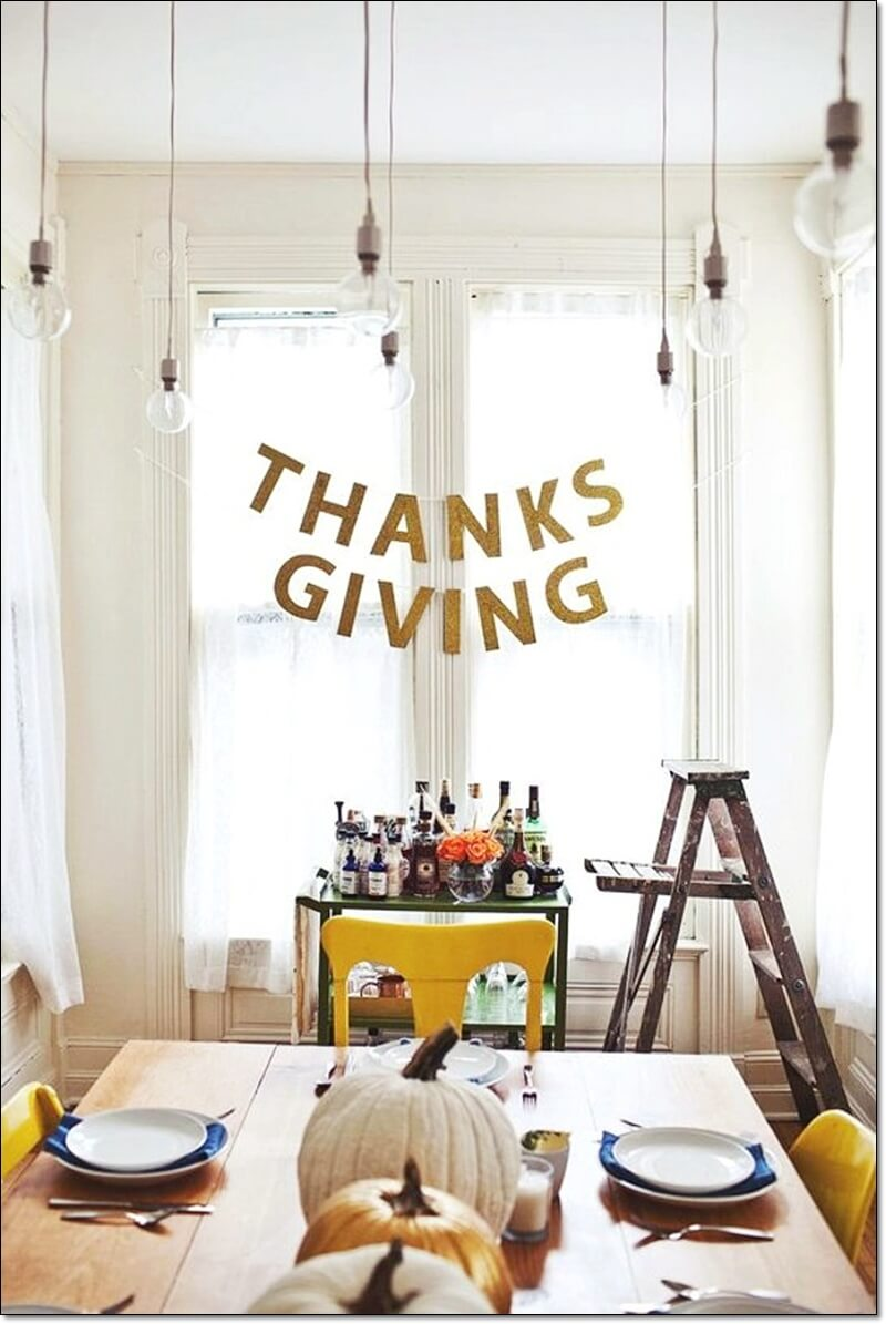 Thanksgiving, Party, Decorations