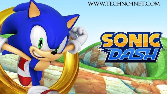 تحميل لعبة سونيك Sonic Dash مجانا للاندرويد