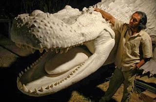 Tamaño del Purussaurus