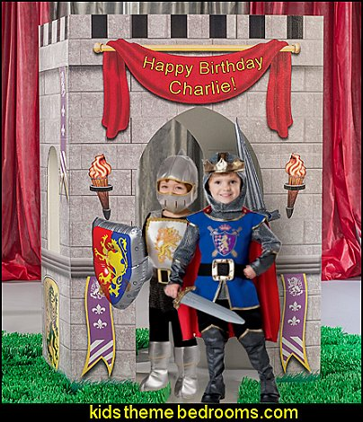 Medieval Kingdom Castle Arch boys medieval theme party props