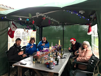 French Village Diaries covid-19 Christmas friends
