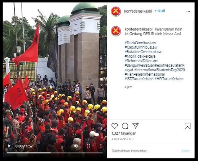 Langka! Hujan Duit Koin di Gedung DPR, Ini Fakta Sebenarnya