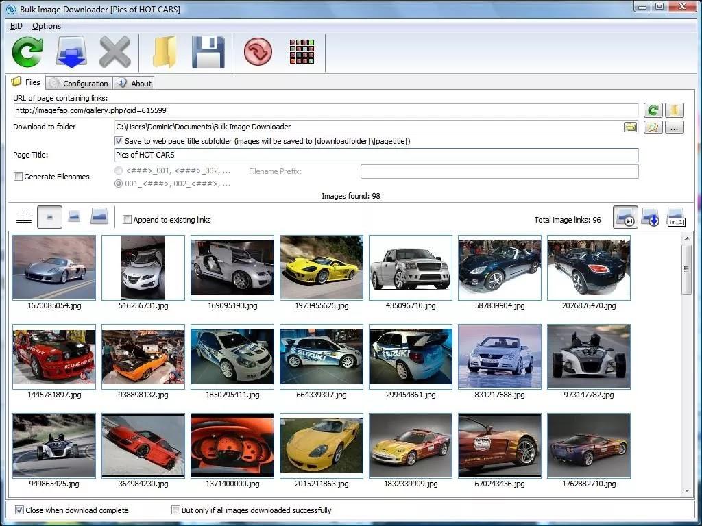 تحميل برنامج Bulk Image Downloader 5.75.0 لتنزيل الصور