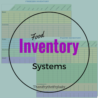 Free Printable Inventory Sheets