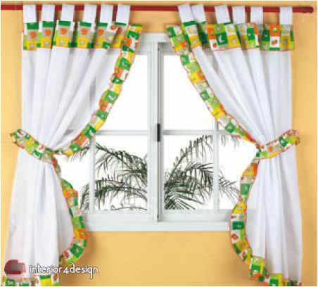 Elegant Kitchen Curtains 19