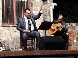 fotografía de la actuación de Félix Crujera el Sevillano el 14 de agosto de 2018
