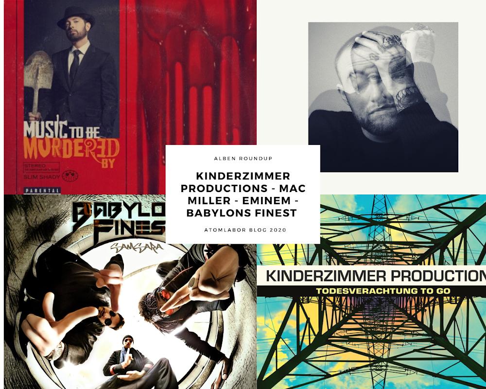 Album RoundUp | Kinderzimmer Productions x Mac Miller x Eminem x Babylon Finest