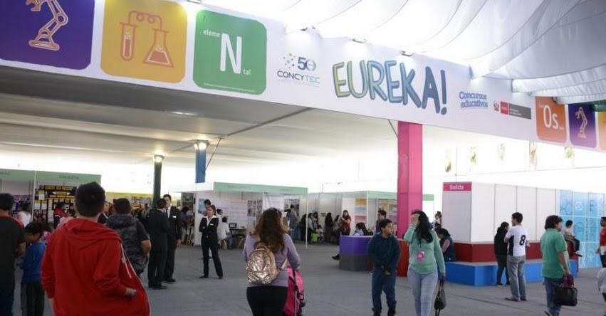 EUREKA 2018: Hoy premian a ganadores de Feria Escolar de Ciencia y Tecnología