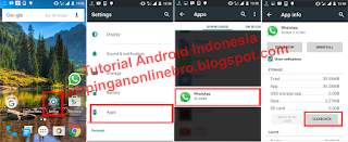 melalui setting android