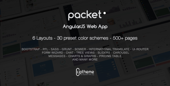download Packet - AngularJS Web App