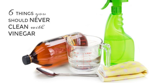 Things You Should Never Clean With Vinegar