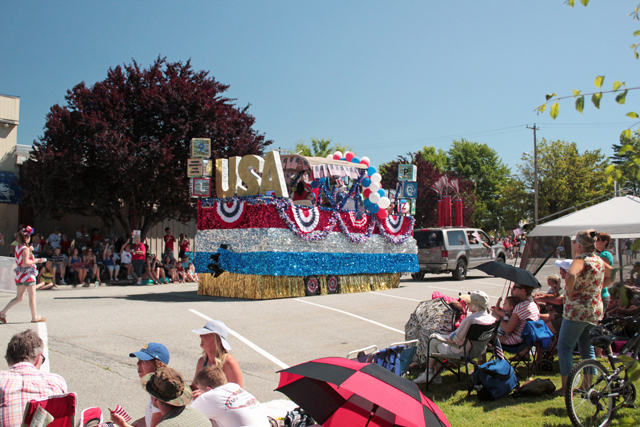 Sandpoint 4th of july float