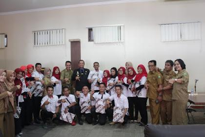 Bupati Luwu Lepas 18 Tenaga Kesehatan Program Nusantara Sehat