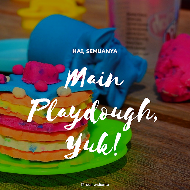 bermain playdough