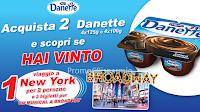 Logo Concorso '' Vola a Broadway con Danette'' di Danone