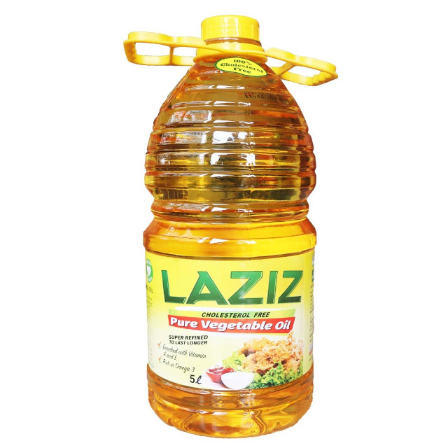 Laziz Vegetable Oil 5 Liters