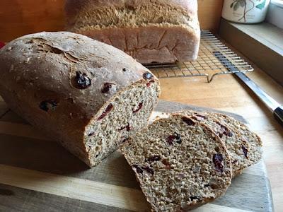 bread cranberry nuts grain ancient