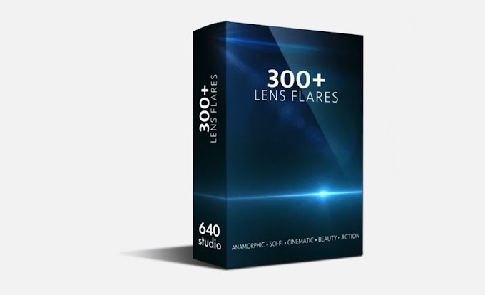 640 Studio – 300+ Action Sci-fi Cinematic Anamorphic Lens Flares