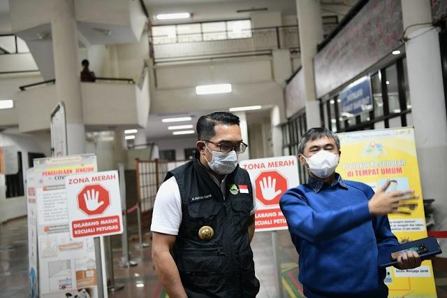 Gubernur Jabar : BOR Rumah Sakit di Kota Bandung Capai 86 Persen, Masih Relatif Terkendali