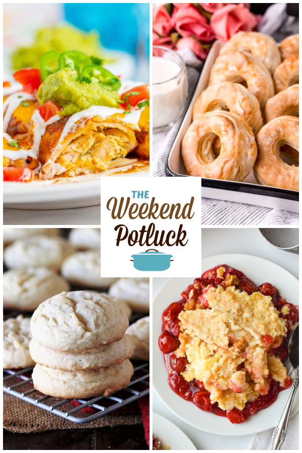 A virtual recipe swap with Chicken Enchiladas, Air Fryer Donuts, Amish Sugar Cookies, Cherry Cheesecake Dump Cake and dozens more!